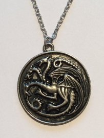 Game of Thrones: ketting Targaryen dragons amulet