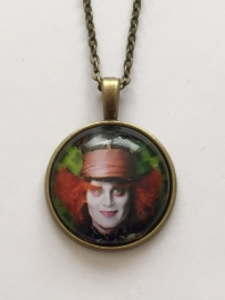Alice in Wonderland: ketting Mad Hatter dome