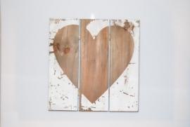 Heart wanddecoratie