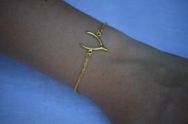 Wishbone bracelet