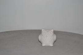 Porseleinen uil groot