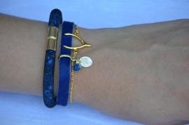 Set armbanden 'beautiful blue'