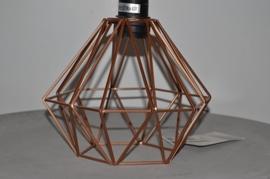 Hanglamp 'geometric' koper