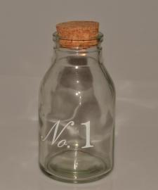 Fles met kurk