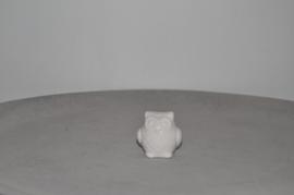 Porseleinen uil klein