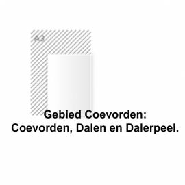 Flyer A5 135 grams papier 8.750 stuks gebied Coevorden