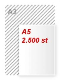 2500 stuks