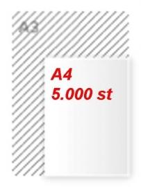 5000 stuks