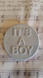 Geursteen Amulet It's a Boy