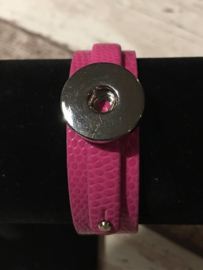 Coin armband Roze
