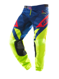 Kenny Track Pant Youth Lime Navy Red 2019