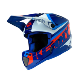 Kenny Track Helm Focus Navy White 2020