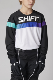 Shift White label Youth Ultra Jersey White/Ultraviolet 2021