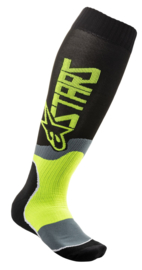 Alpinestars Mx Plus-2 Sokken Black Yellow
