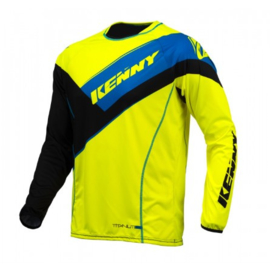 Kenny Titanium Jersey Black Yellow Blue 2016