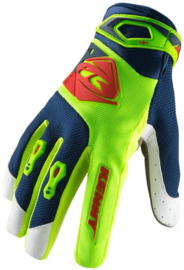 Kenny Track Glove Lime Red 2019