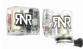 RNR Canister Set Universeel Doorzichtig witte letters