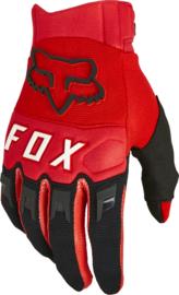 Fox Dirtpaw Glove Flo Red 2022