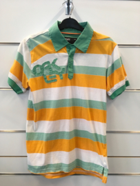 Oakley stripes Green Polo