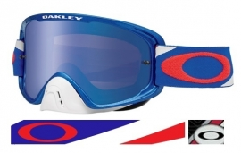 Oakley O2 Heritage RWB Black ice Iridium & Clear Lens