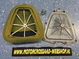 Grondplaat, korf en Luchtfilter set YZ250F 14-18 YZ450F 14-17