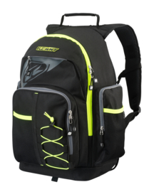 Kenny Machanic Backpack Black Fluo Yellow