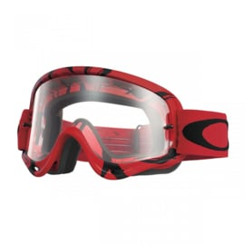 Oakley O-Frame Imtimidator Red Black w/clear