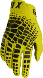Fox 360 Grav Glove Yellow 2018