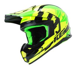 Kenny Track Helm Groen Fluor Geel