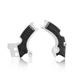 Acerbis X-Grip Framebeschermer KXF250 17-20 Wit Zwart