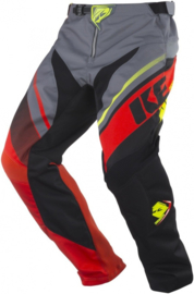 Kenny Track Pant Youth Grey Orange 2018