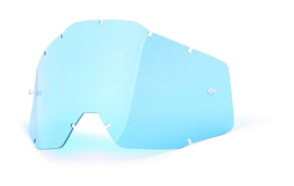100% Tear Off lens Blauw