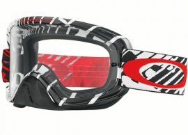 Oakley O2 Mx Skull Rushmore Red w/Clear Lens