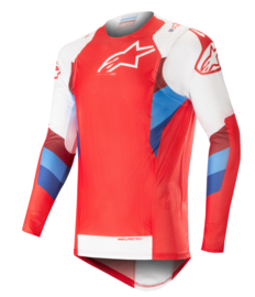 Alpinestars Supertech Jersey Red White 2019