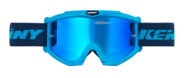 Kenny Track Goggle Cyan With Mirror Blue Lens Youth