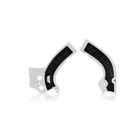 Acerbis X-Grip Framebeschermer YZF250 14-16 YZF450 14-15 WRF250 15-18 WRF450 16 Wit Zwart