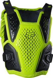 Fox Raceframe Impact Protector Adult Fluor Yellow