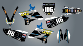 Stickerset YZ125
