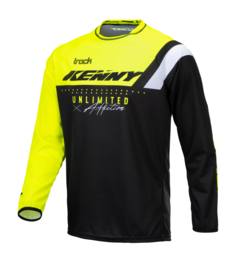 Kenny Track Jersey Kids Neon Yellow 2021