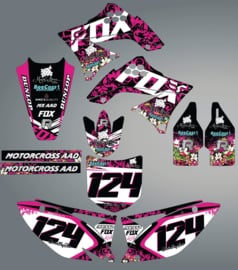Stickerset KX250F divers