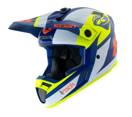 Kenny Track Graphic Helm Navy Neon Yellow 2021