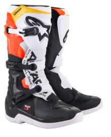 Alpinestars Tech 3 Boots Black White Red Fluo Yelllow