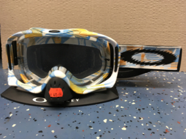 Oakley Crowbar Orange Blue White