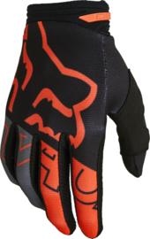 Fox 180 Skew Glove Black Orange 2022