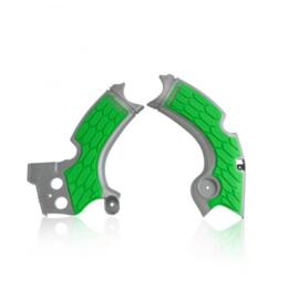 Acerbis X-Grip Framebeschermer KXF250 17-20 Grijs Groen