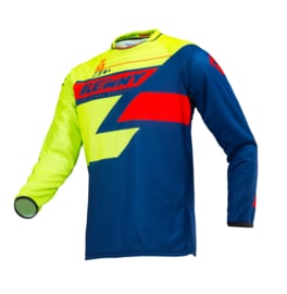 Kenny Track Jersey Lime Navy Red 2019