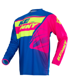 Kenny Track Jersey Youth Lime Pink 2018