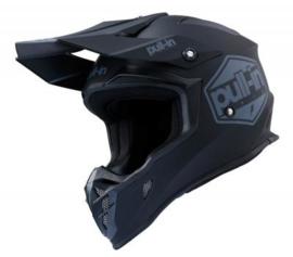 Pull-in Helmet Solid Black 2020