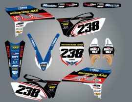 Stickerset YZ250F 2010-2013