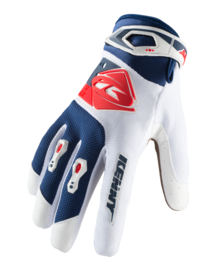 Kenny Track Glove White Navy Red 2019